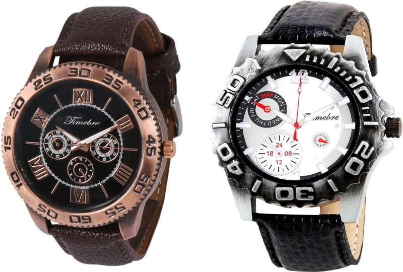Timebre GXCOM156 Copper Hunk Analog Watch For Men