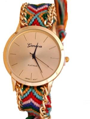 Geneva A7702 Analog Watch  - For Girls, Women