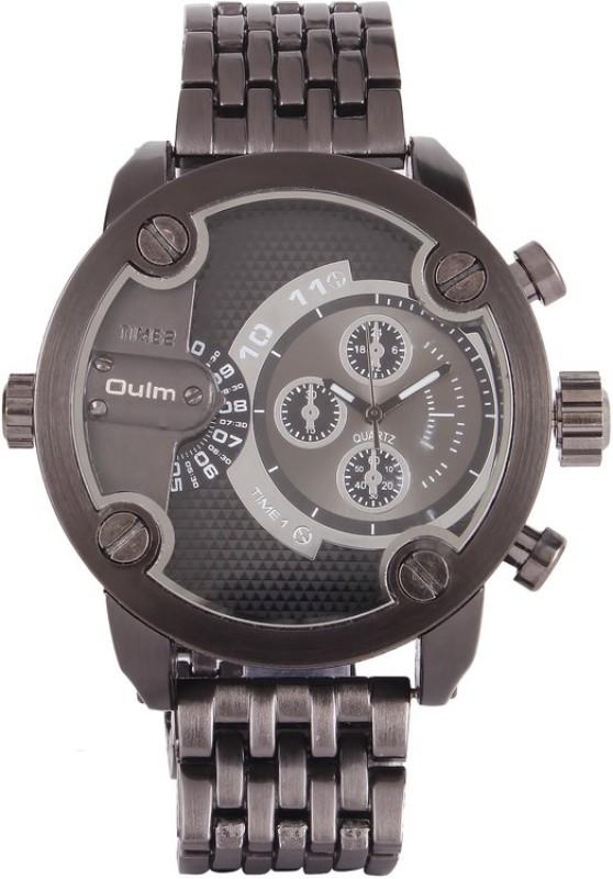 Oulm HT3130GUNBL Analog Digital Watch For Men