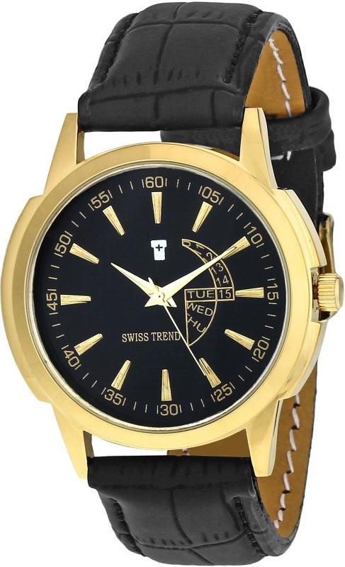 Swiss Trend ST2228 Bleak Esthetic Analog Watch For Men