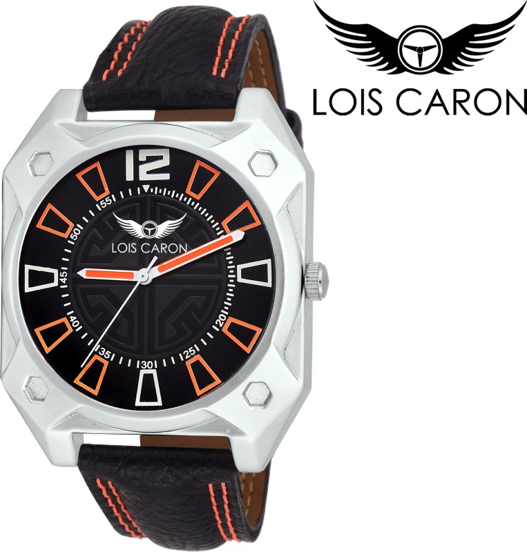 Lois Caron LCS 4139 BLACK Analog Watch For Men
