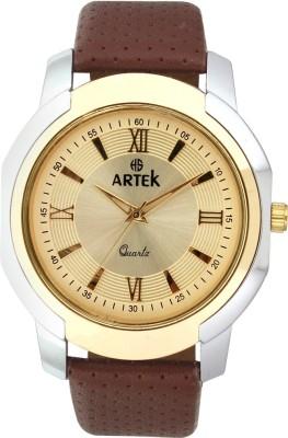 ARTEK 4016-SILVER-GOLD Analog Watch  - For Men