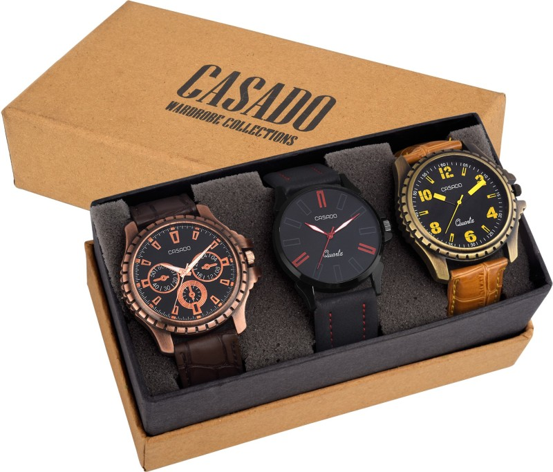 Casado 153AND135AND720 COMBO OF 3 LATEST EDITION WATCHES WITH JAP