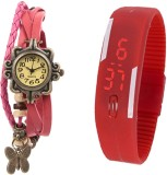 Sir Time Seven color Analog-Digital Watc...