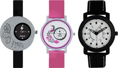 Frida Designer VOLGA Beautiful New Branded Type Watches Men and Women Combo269 VOLGA Band Analog Watch  - For Couple