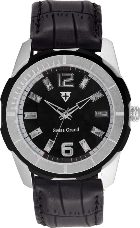 Swiss Grand SSG 8000Black Analog Watch For Men