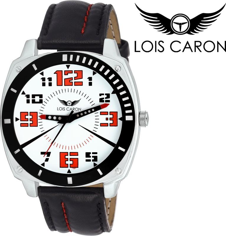 Lois Caron LCS 4138 WHITE Analog Watch For Men