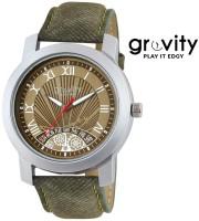Gravity GXBRW53 Analog Watch For Men