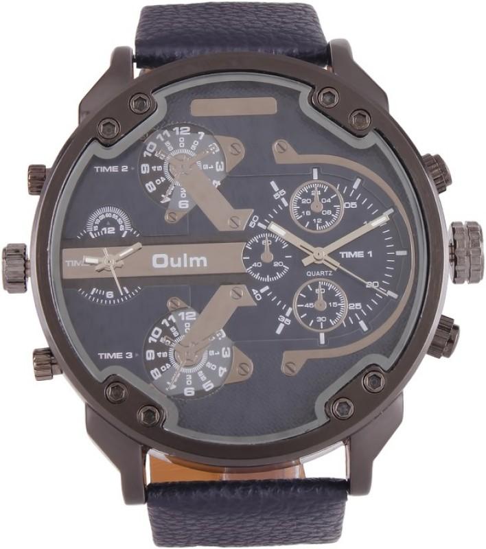 Oulm HP3548GUNBU Analog Digital Watch For Men