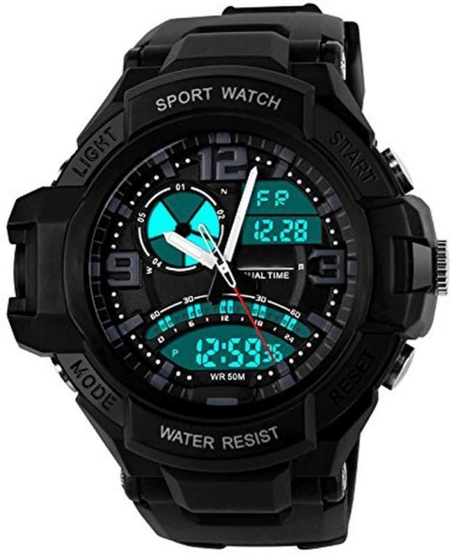 PredictWay 1017 SKMEI Analog Digital Watch For Men