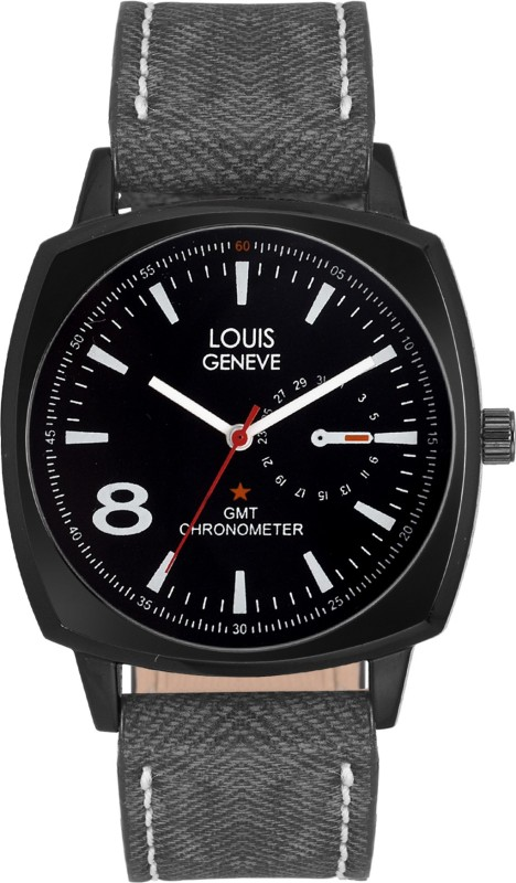 Louis Geneve LG MW 51 BLACK 68 Trendy Designer Analog Watch