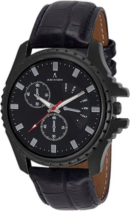Adixion 133NLB1 New Chronograph pattern Genuine Leather Youth Wat