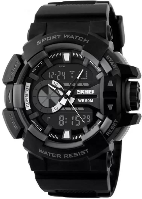 Skmei SZ1117BLK Analog Digital Watch For Men