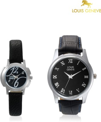 Louis Geneve LG-LMW-COMBO-104 Elegant & Fashionable Analog Watch  - For Couple