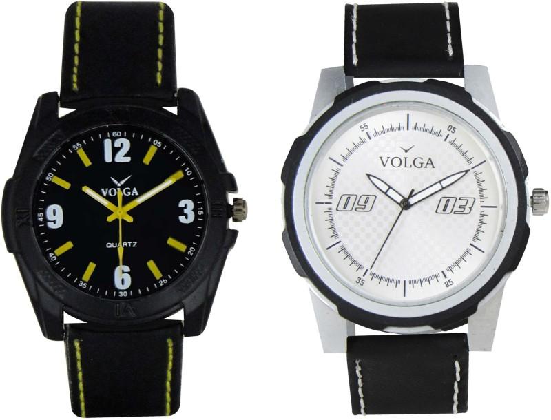 VOLGA Branded Leather Quality Designer Dial Diwali WATEN6XK7QSY9HHD