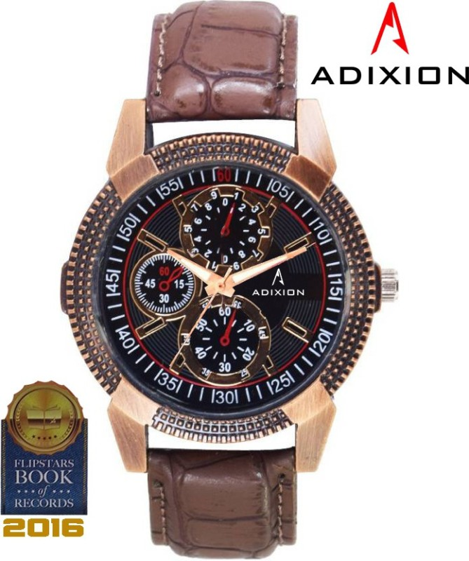 Adixion AD9503KL01 New Stainless Steel watch with Chronograph Pat