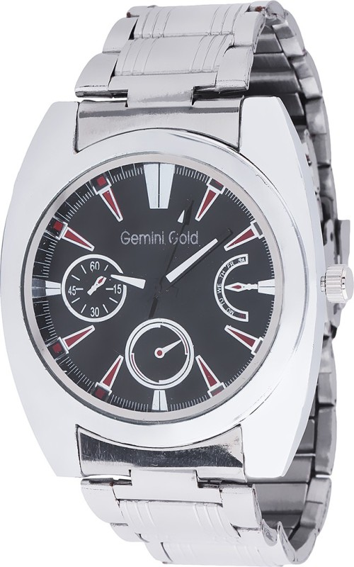 GEMINI GOLD GOLD 1225 Party Analog Watch For Men
