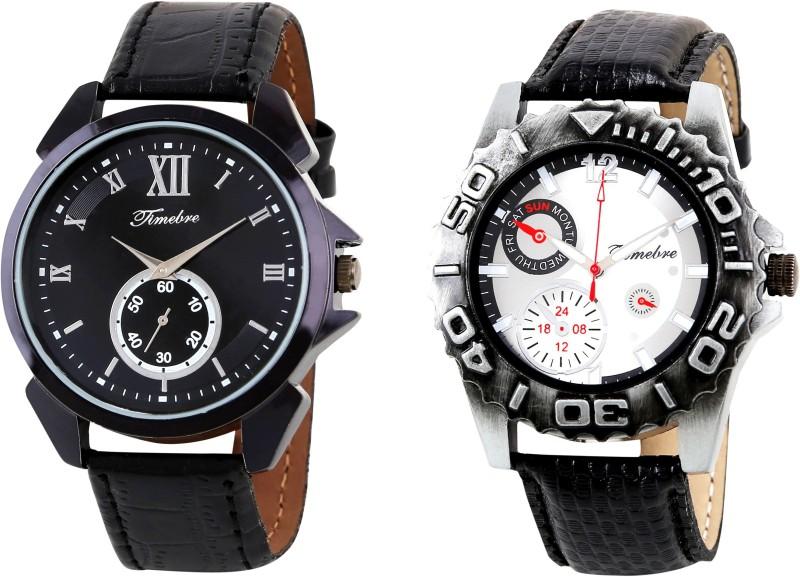 Timebre GXCOM126 Dusky Ivory Analog Watch For Men