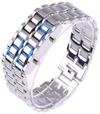 iDigi Exclusive Chain Bracelet Led Digital Watch    For Men, Girls, Boys available at Flipkart for Rs.310