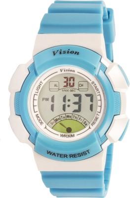 Vizion 8540061-5BLUE Sports Series Digital Watch  - For Boys, Girls