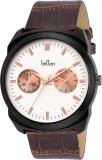 Britton BR-GR171-WHT-BRW Analog Watch  -...