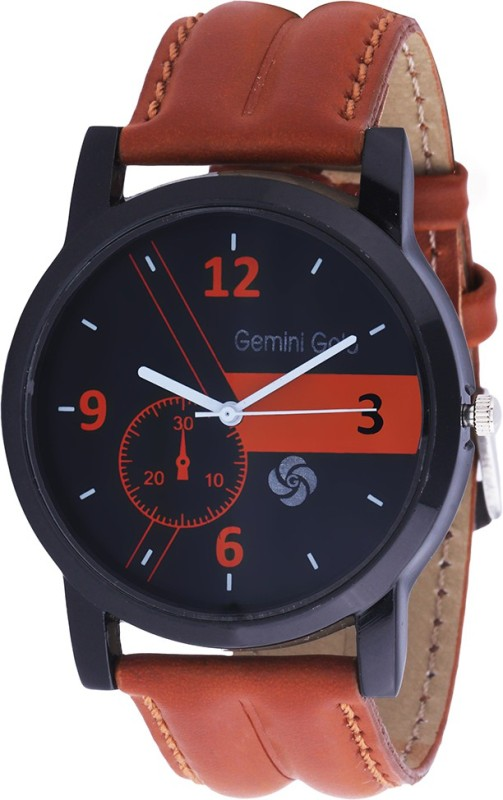 GEMINI GOLD GOLD 1219 Party Analog Watch For Men