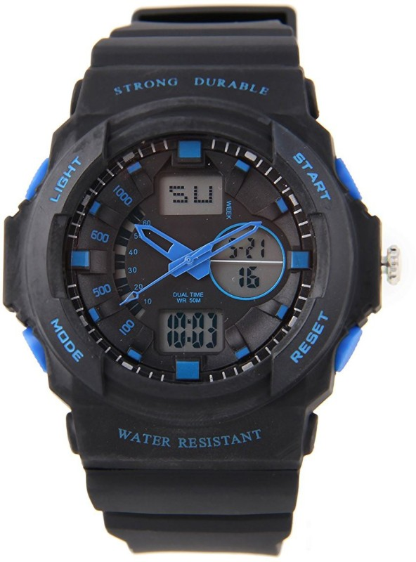 PredictWay 955BLU SKMEI Analog Digital Watch For Men