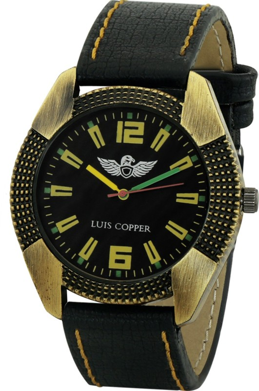 LUIS COPPER LUIS348BL43 New Style Analog Watch For Men