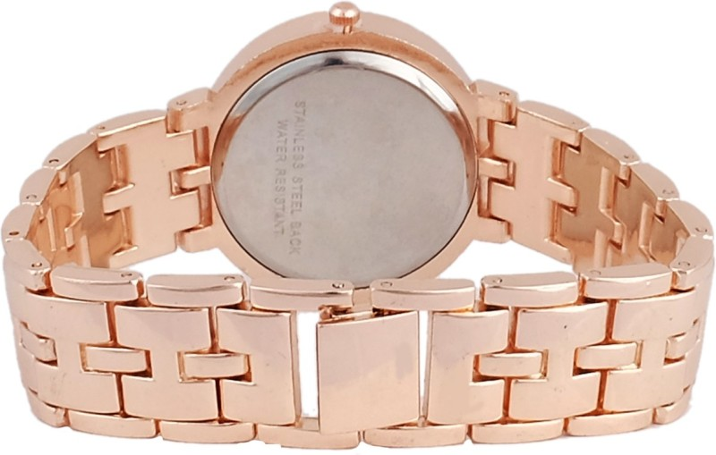 Super Drool SD0132WTROSEGOLDWHITE Analog Watch For Women