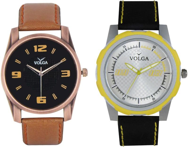 VOLGA Branded Leather Quality Designer Dial Diwali WATEN6XGCDH4HJTJ