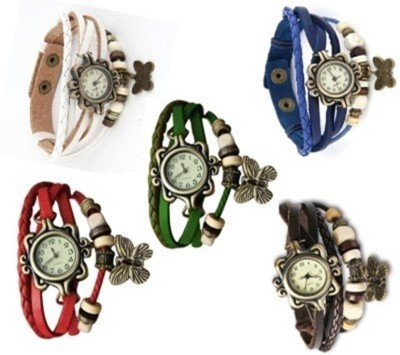 3DFASHION 5DORI_COMBO03 Analog Watch - For Women
