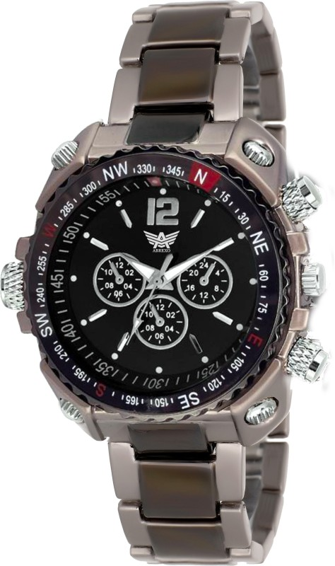 Abrexo Abx 4 studded Urban style Analog Watch For Men