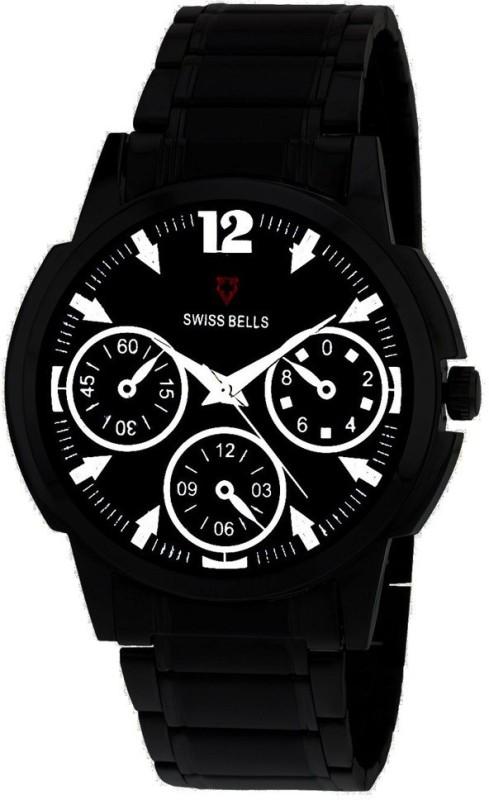 Svviss Bells TA 943BlkD Analog Watch For Men