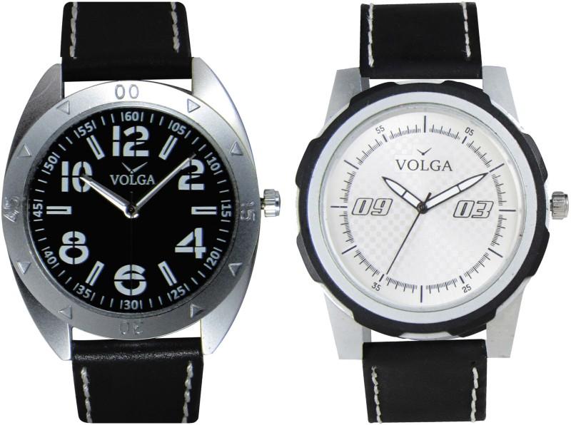 VOLGA Branded Leather Quality Designer Dial Diwali Special Combo5