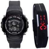 ROKCY Black_Colours Digital Watch - For ...