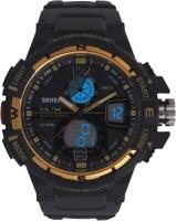 SKMEI FD1148BLACKGOLDEN Analog Digital Watch For Men