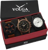 VOLGA VLW05-20-23-38 Mens Leather Belt C...