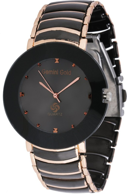 GEMINI GOLD GOLD 1213 Party Analog Watch For Men