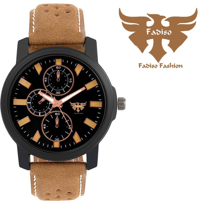 Fadiso fashion FF 11057 BRN DOTD CHRONOGRAPH PATTERN Analog Watch
