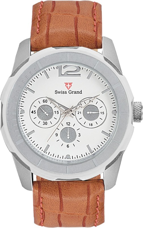 Swiss Grand S SG 8000White Analog Watch For Men