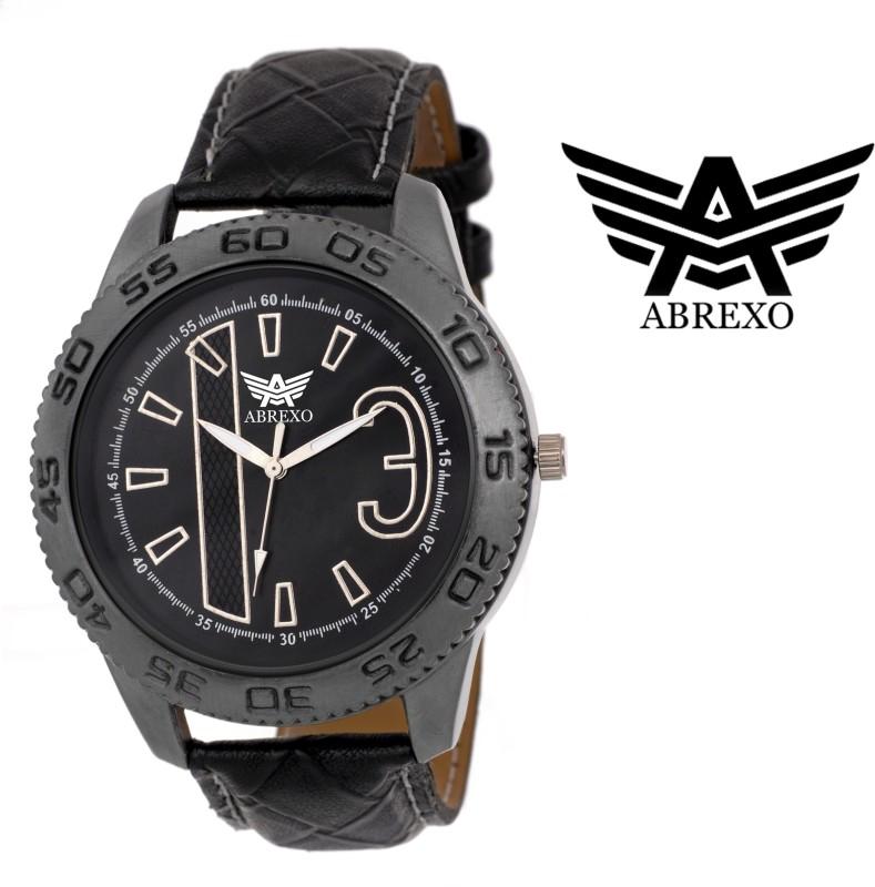 Abrexo Abx 1024 BK Analog Watch For Men