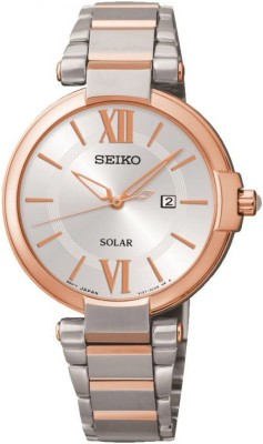 Seiko SUT156P1 Dress Analog Watch - For Women