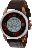 Oura Antik Copper Case Stylist Casual wear Analog Watch For Me