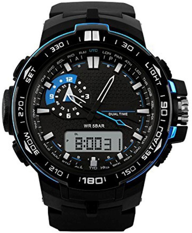 PredictWay 1081BLU SKMEI Analog Digital Watch For Men