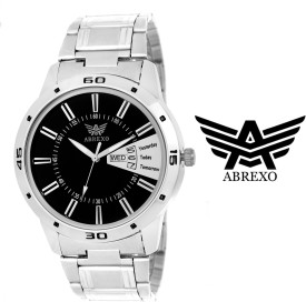 Abrexo Abx-1155-BK Formal Stylish Analog Watch - For Men
