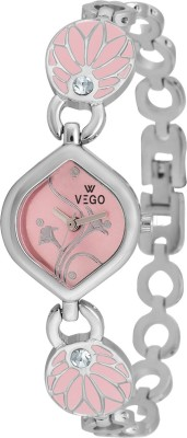 Vego AGF037 Vego Silver Color Analog Watch For Women,s(AGF037) Analog Watch  - For Women