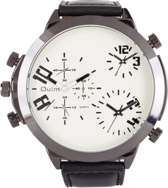 Oulm HP9423WH Analog Watch For Men