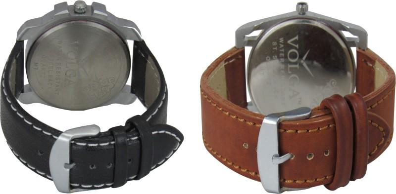VOLGA Branded Leather Quality Designer Dial Diwali WATEN6XKWAKYENAB