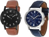 Asgard Brown and Blue Analog Watch  - Fo...