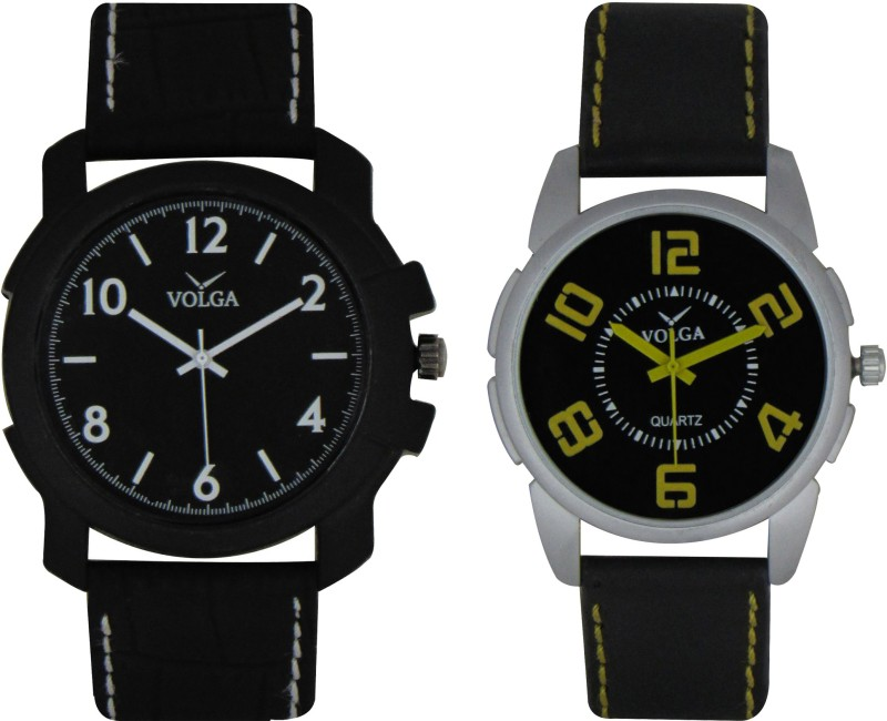 VOLGA Branded Leather Quality Designer Dial Diwali WATEN6XKFPBJ8NGN